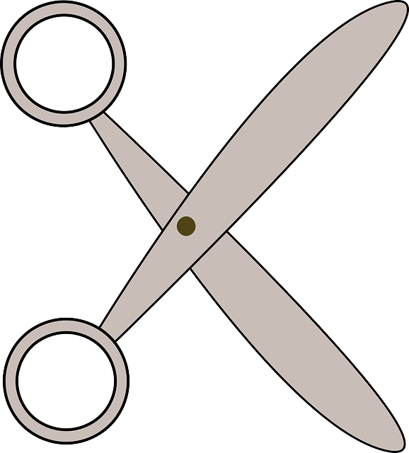 scissors, office, tool, cut
