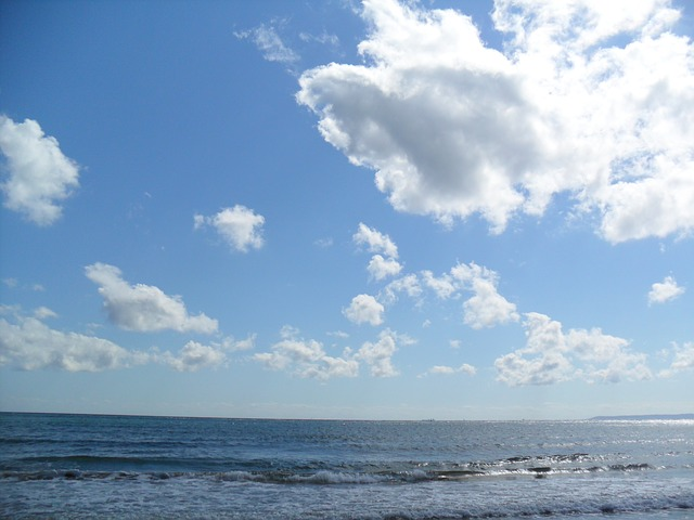 sea, sky, beach, cloud, pohang, water