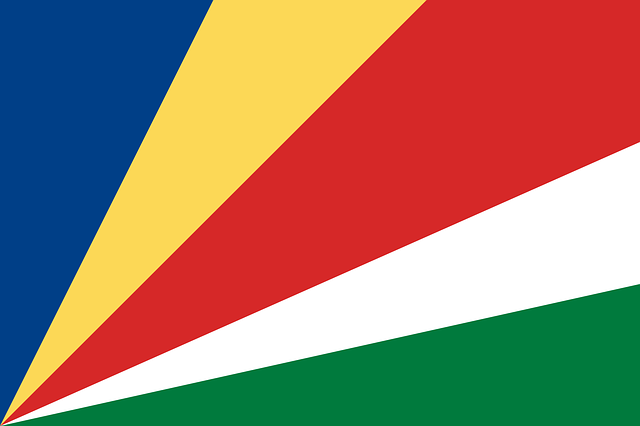 seychelles, flag, national flag, nation, country
