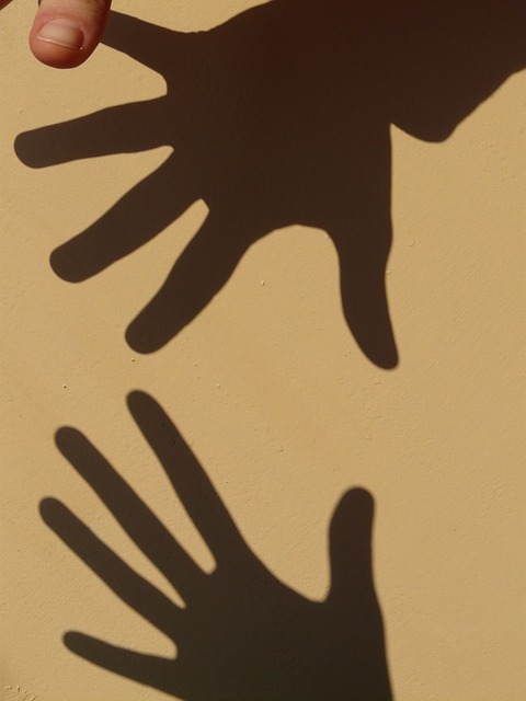 shadow play, hand, hands, shadow, light