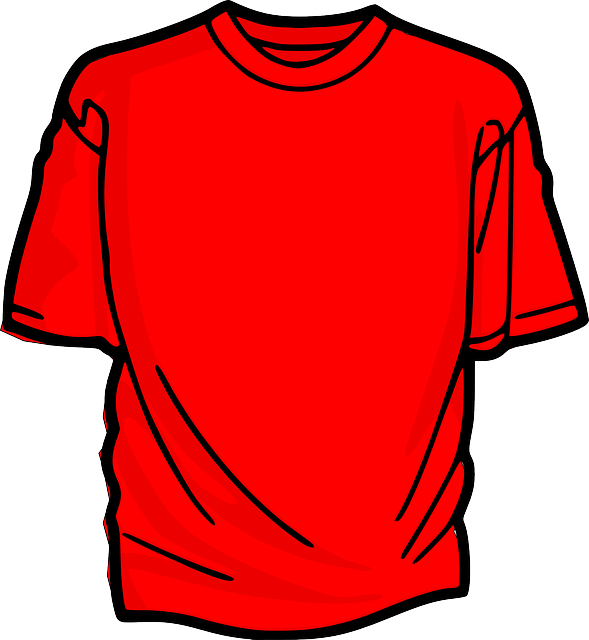 shirt, t-shirt, red, clothing