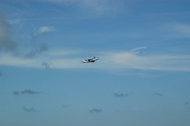 shuttle, space, piggyback, florida