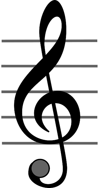 sign, black, music, icon, key, note, outline, symbol