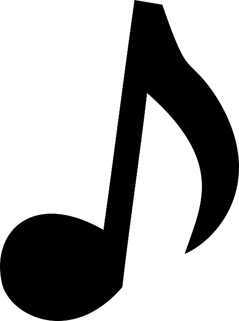 sign, black, music, icon, large, note, simple, small