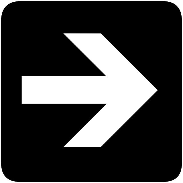 sign, right, symbol, arrow, direction, information