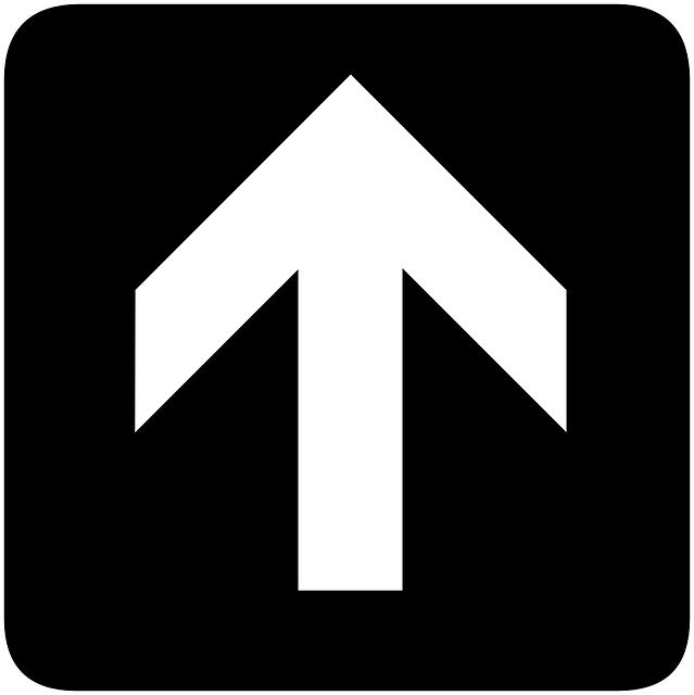 sign, symbol, arrow, direction, pointing, information