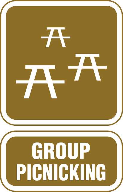 sign, symbol, out, hotel, group, eating, eat, travel
