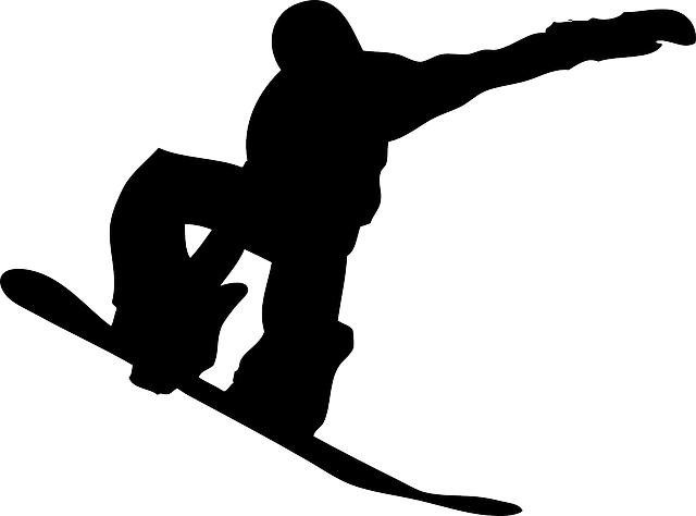 silhouette, sport, recreation, lift, snowboarder, slope
