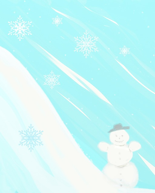 snow, snow man, christmas, background, greeting, gifts