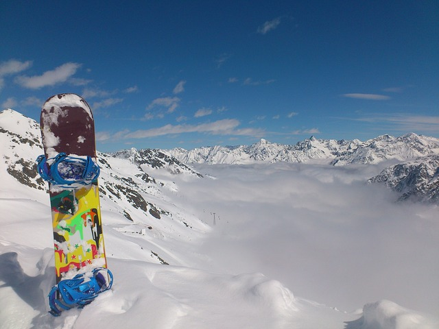 snowboard, winter, winter sports, sölden, glacier