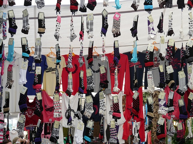 socks, t shirts, garments, attract, clothing, sale