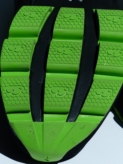 sole, green, rubber, grip, sports shoes, running shoes