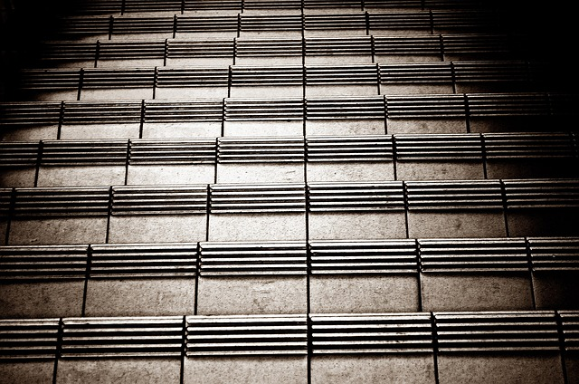 stairs, floor, down, background, tile