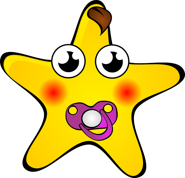 star, faces, funny, moon, soother, dummy, baby