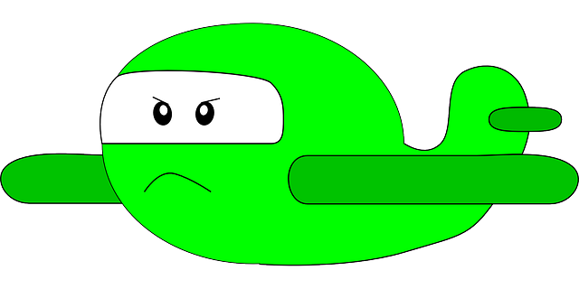 ste, mad, green, cartoon, airplane, transportation
