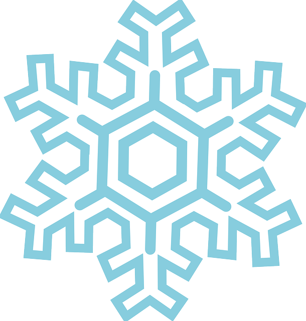 stylized, simple, outline, cartoon, free, ice, winter