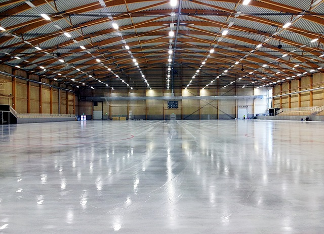 sweden, stinsen arena, building, structure, floor