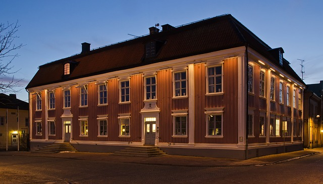 sweden, town hall, sky, building, structure, government