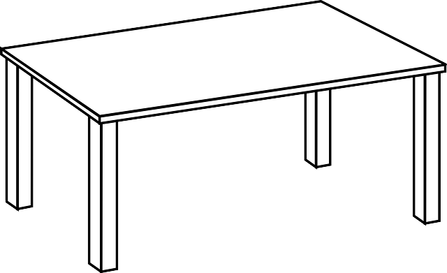 table, furniture, living room, household