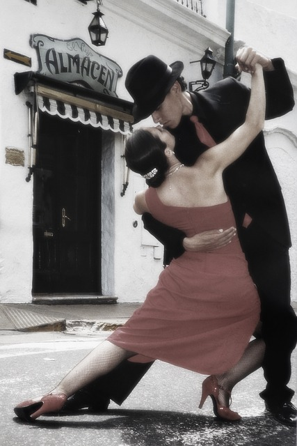 tango, dancing, couple, dreamy style, human, persons