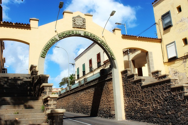 tenerife, tropics, tropical, buildings, town, city