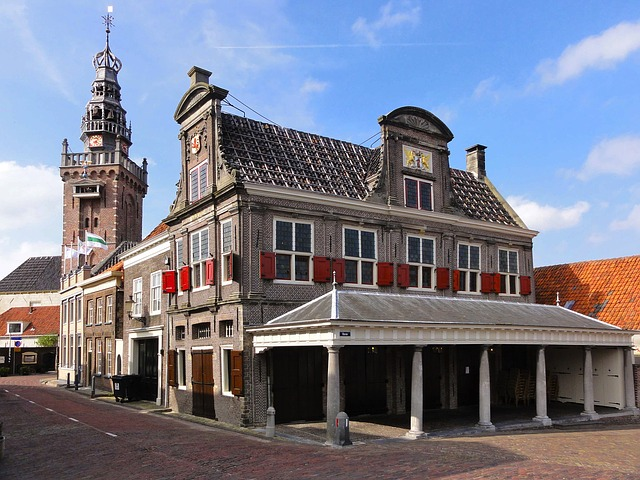 the netherlands, buildings, structures, architecture
