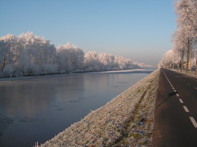 the netherlands, river, water, reflections, waterway