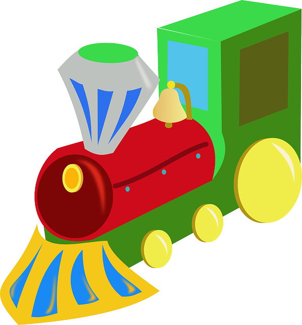 toy train, train, wood, playing, kids, kindergarten