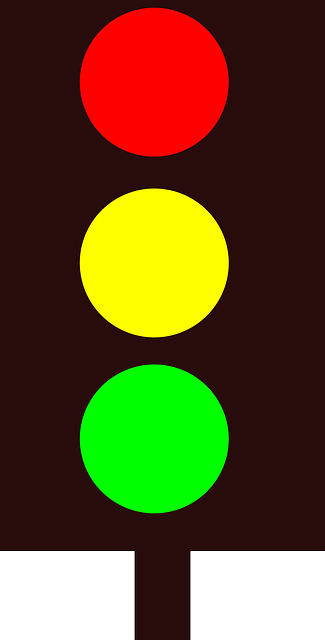 traffic lights, traffic, green, yellow, red, signal