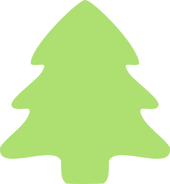tree, fir tree, christmas, evergreen, green, icon