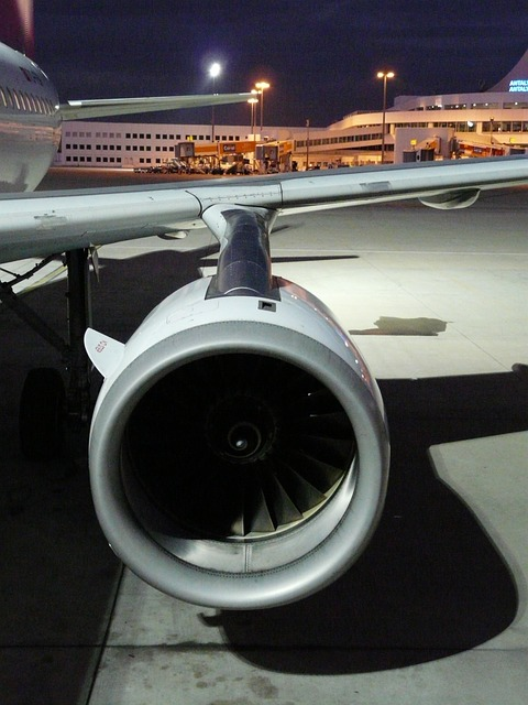 turbine, engine, aircraft, wing, airport, motor, force