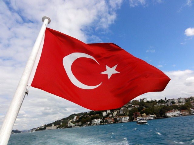 turkey, istanbul, constantinople, sky, flag, flags