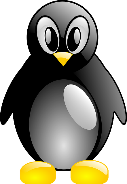 tux, mouse, linux, simple, cartoon, animal, pinguin