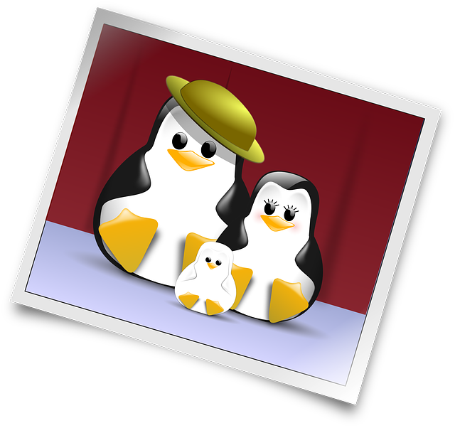 tux, penguin, digital, happy, cartoon, free, penguins