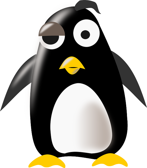 tux, penguin, thinking, weird, mascot