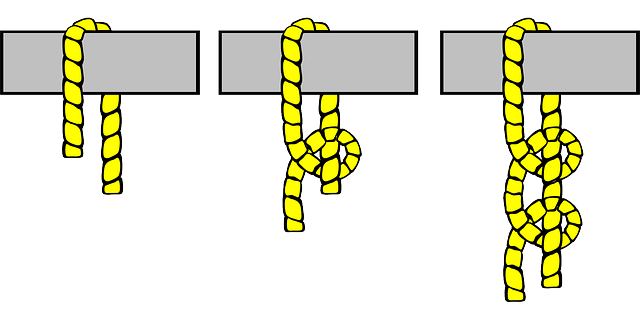 two, knot, diagram, sailing, half, transportation, tie