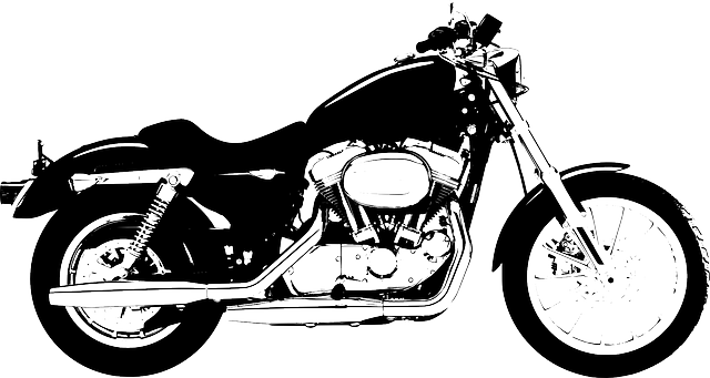 two, outline, drawing, silhouette, cartoon, bike