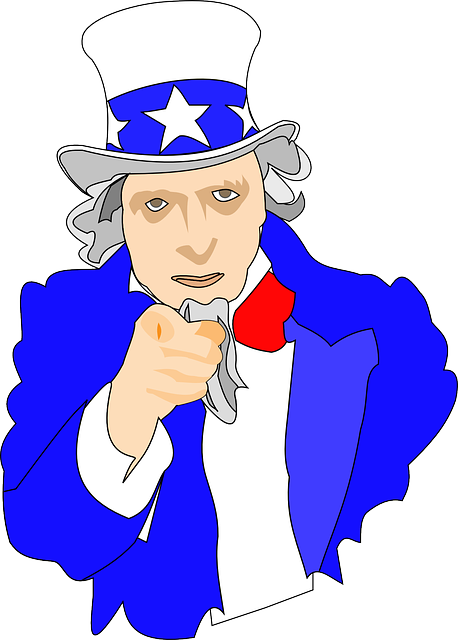 uncle sam, i want you, army, usa, man, hat, cylinder