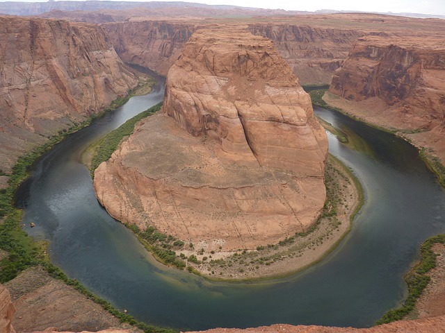 usa, horseshoe bend, page, arizona, colorado river