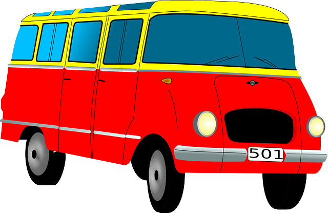 van, car, cartoon, bus, automobile, auto, motor, vans
