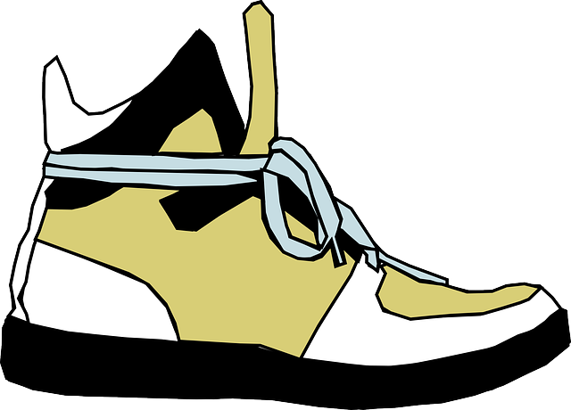 view, cartoon, foot, clothing, shoes, sports, side