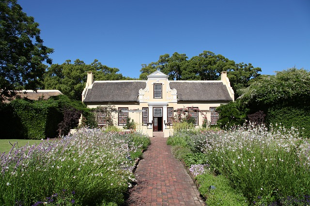 villa, manor house, property, home, south africa