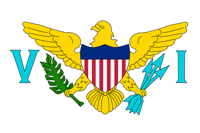 virgin islands, united states virgin islands, flag