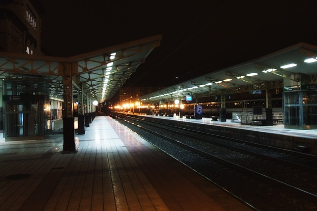 vitorio-gasteiz, spain, station, depot, tracks