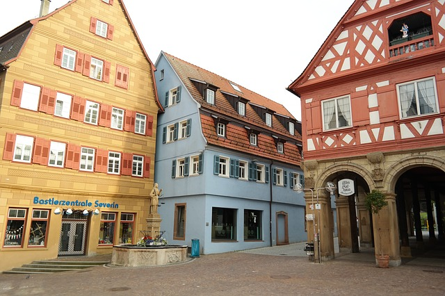 waiblingen, stadtmitte, center, city