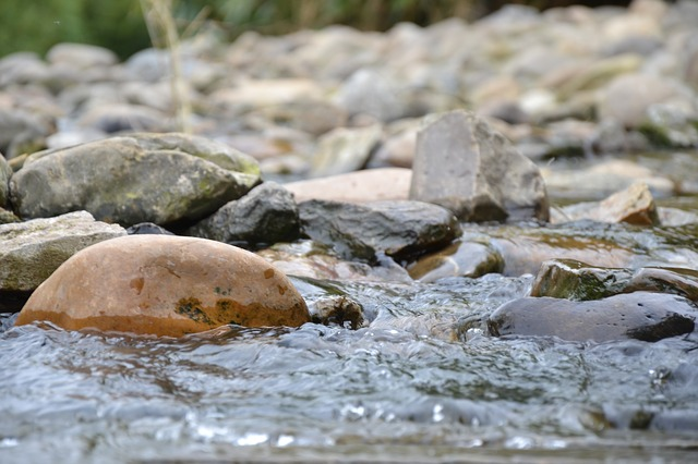 water, river, bach, nature, beautiful, rest, stones
