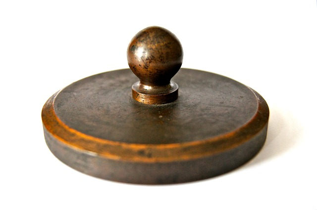 weight, iron, old, historically, letters, paperweight