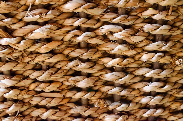 wicker, palm, surface, wallpaper, rough, interwoven