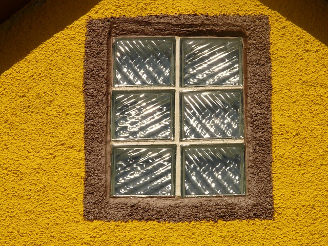window, home, architecture, plaster, yellow