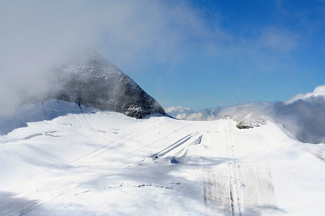 winter, snow, white, wintry, cold, nature, mountain